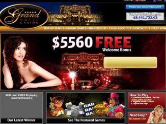 Grand Hotel Casino Review Screen