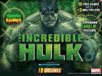 Incredible Hulk 50 Lines Slot Game