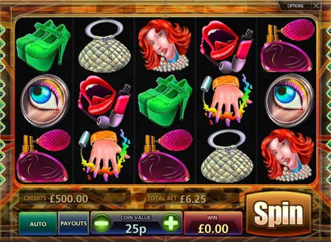 Lady Glamour Slot Machine