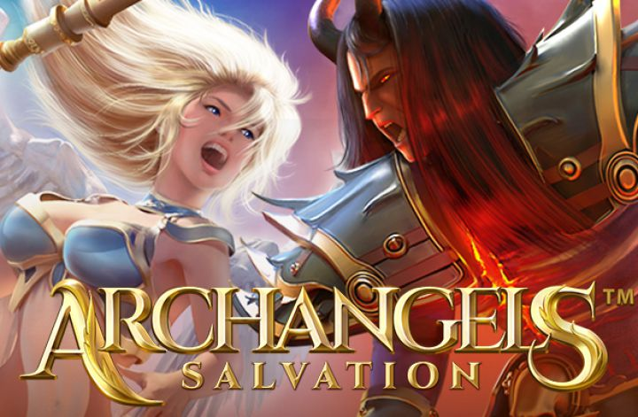 Archangels: Salvation slot game screenshot