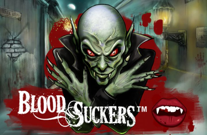Blood Suckers slot game screenshot