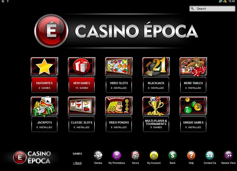 Casino Epoca screenshot