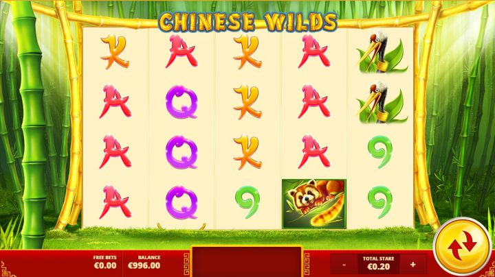 Chinese Wilds video slot game screenshot