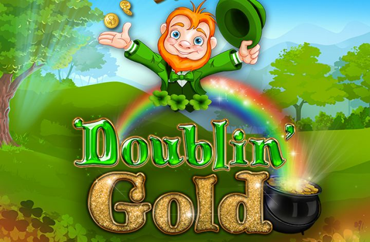 Doublin' Gold video slot game screenshot
