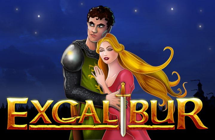 Excalibur slot machine screenshot