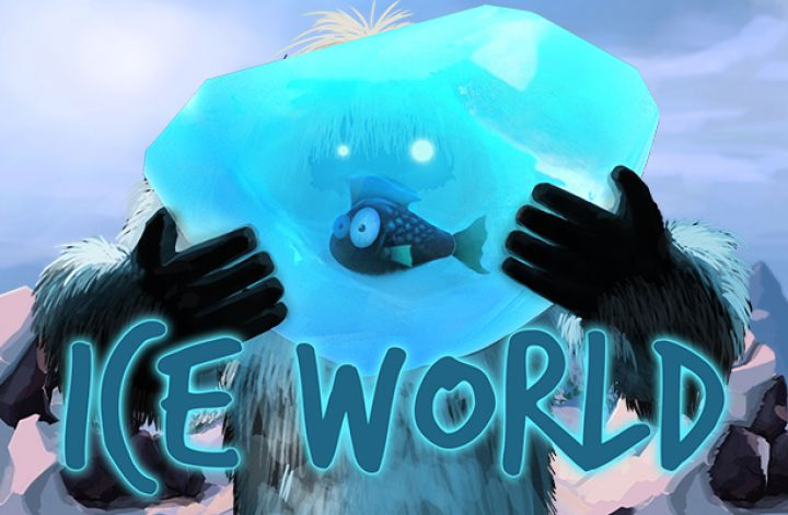 Ice World slot machine screenshot