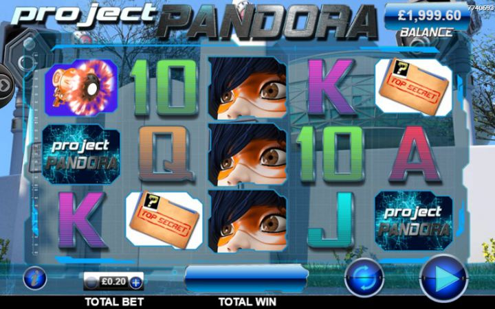 Pandora Slot Machine