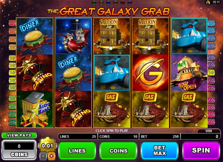 The Great Galaxy Grab slot machine screenshot