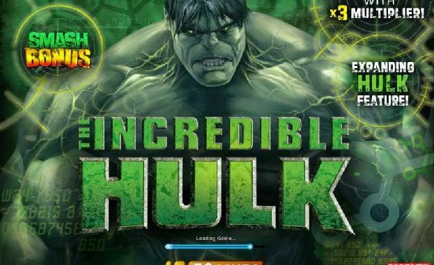 Incredible Hulk 50 Lines Slot Game
