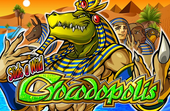 Crocodopolis slot game screenshot