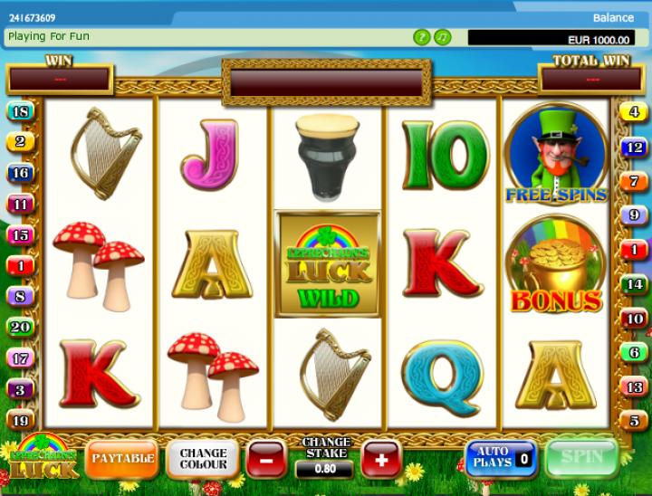 Leprechauns Luck Slot Machine
