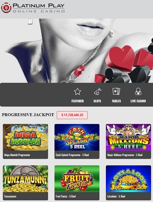 Platinum Play Casino Withdrawal